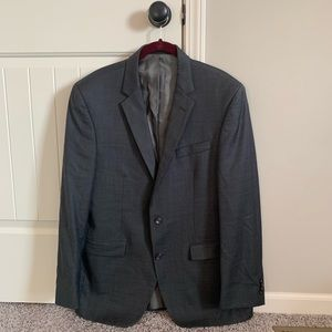 Kenneth Cole Suit Jacket Charcoal 42R